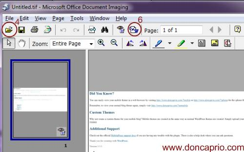 editing scanned documents with or without microsoft word