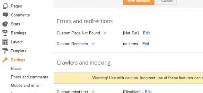 Blogspot SEO Guide: How to Tweak your Search Preferences Settings