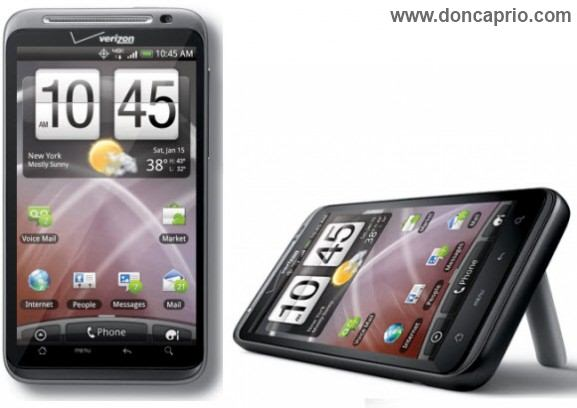 htc thunderbolt - top 5 hts android smartphones