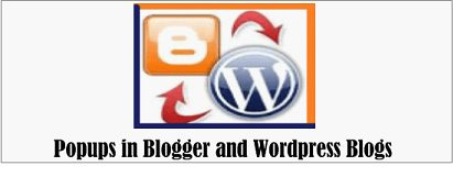 5 Things To Consider While Using Popups On Blogger And WordPress Blogs