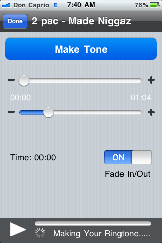 free app to create ringtones on iphone