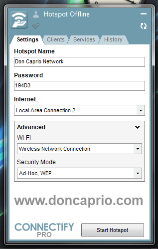 connect computer network with mobile iphone android