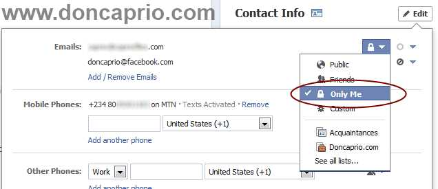 things you should hide from your facebook profile