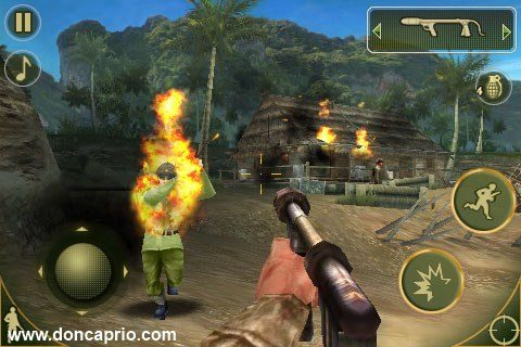 first person shooter game for iPhone