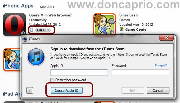 how to open an apple id without a valid credit card