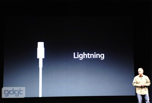 lightning connector for iPhone 5