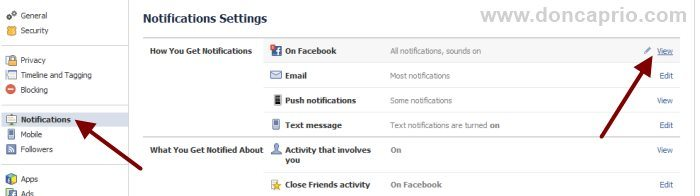 How to Turn Off Facebook Notification Sound