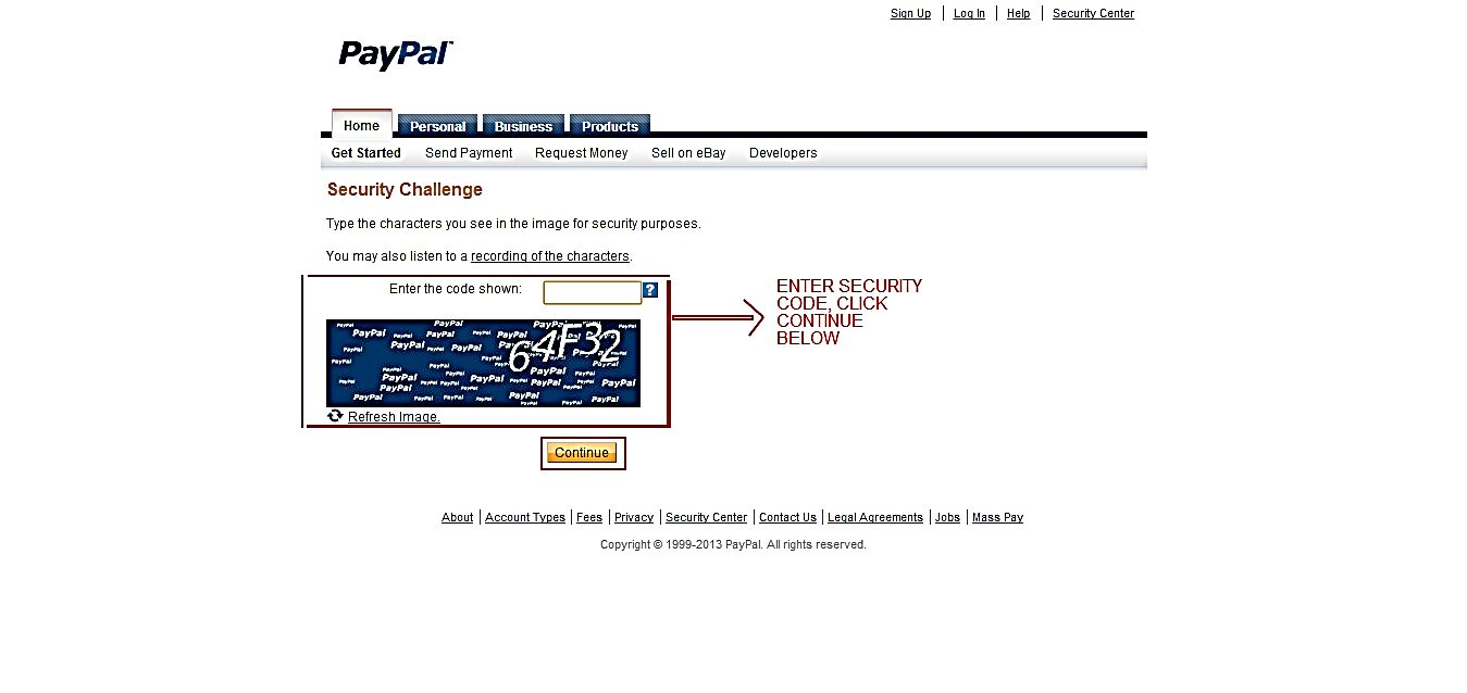 How To Activate A Valid Paypal Account In Nigeria Ghana Giftcard Vcc 2 Year Verif Security Verification Page