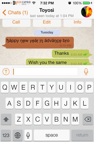 colored message bubbles for whatsapp