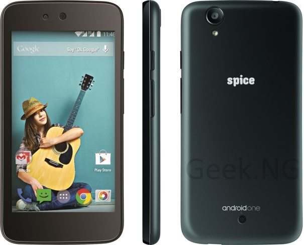 spice uno android one
