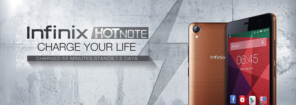 infinit hot note