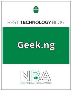 Nigerian blog awards winner