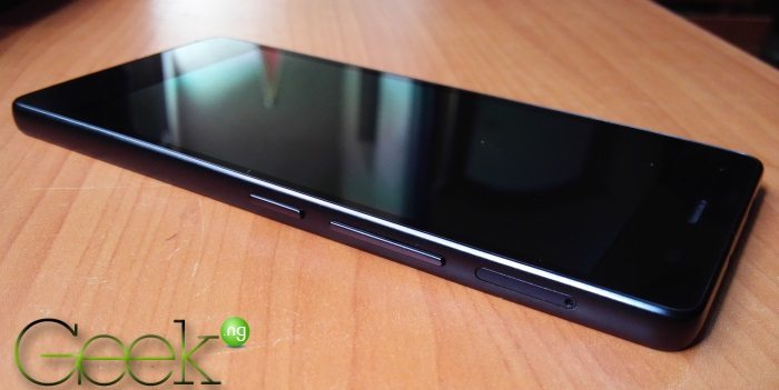 Infinix Zero 2 - right side