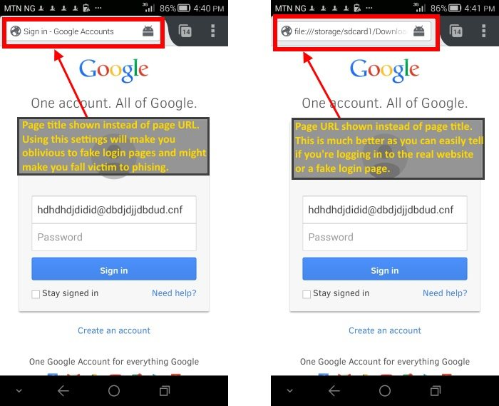 Your mobile browser settings can make a big difference
