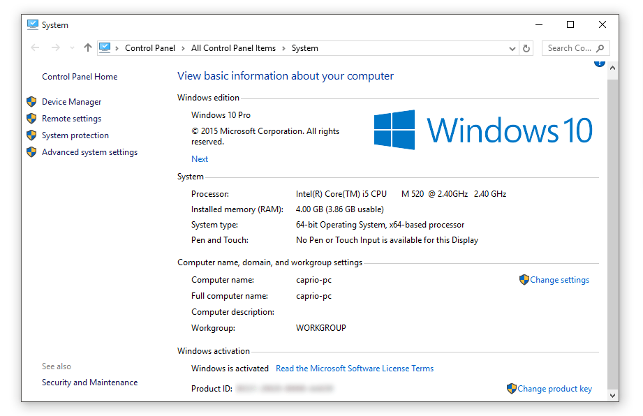 windows 10 activated