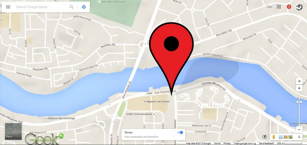 Google maps how to download your citys map for offline view google maps victoria island gumiabroncs Gallery