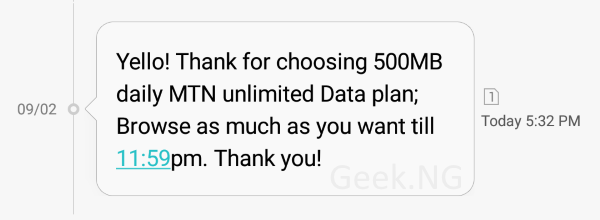 mtn unlimited daily data plan