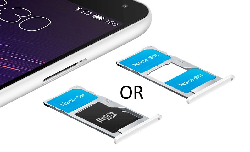 When Your Dual SIM Phone Lets You Choose Between Using 2 Cards At A Time Or Single Card And MicroSD What Have Is Hybrid
