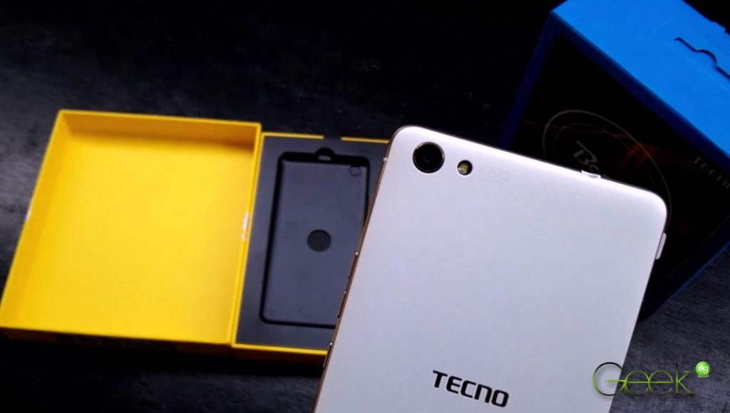 Tecno Boom J8 has a 13MP camera at the back with LED flash.