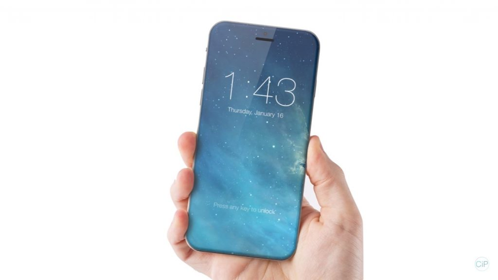 bezel-less iphone 7 concept