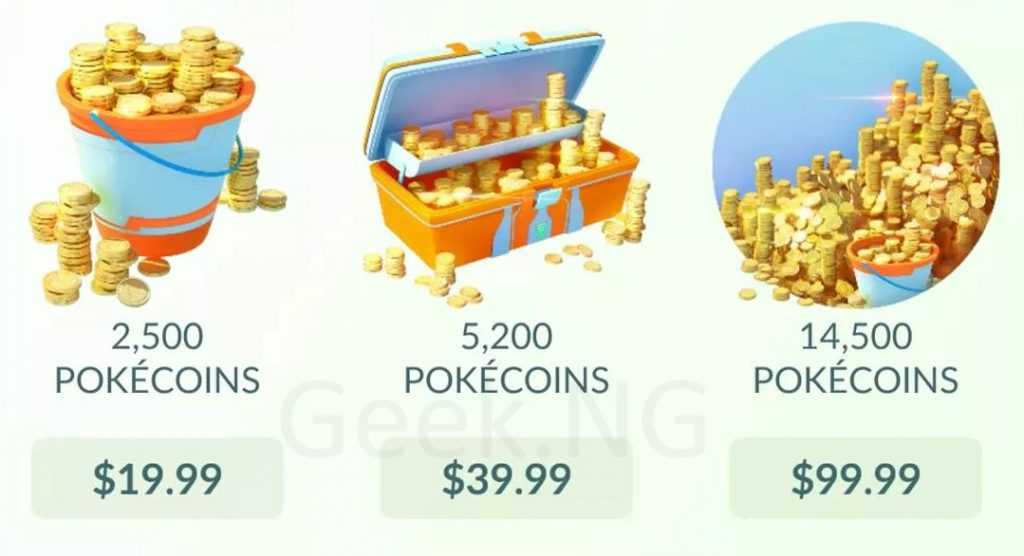 purchase pokecoins