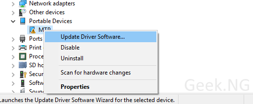 install-software-driver