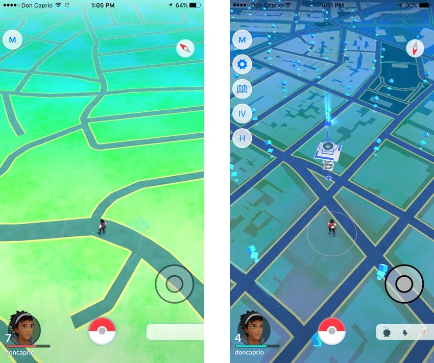 Pokemon Go in Lagos vs New York