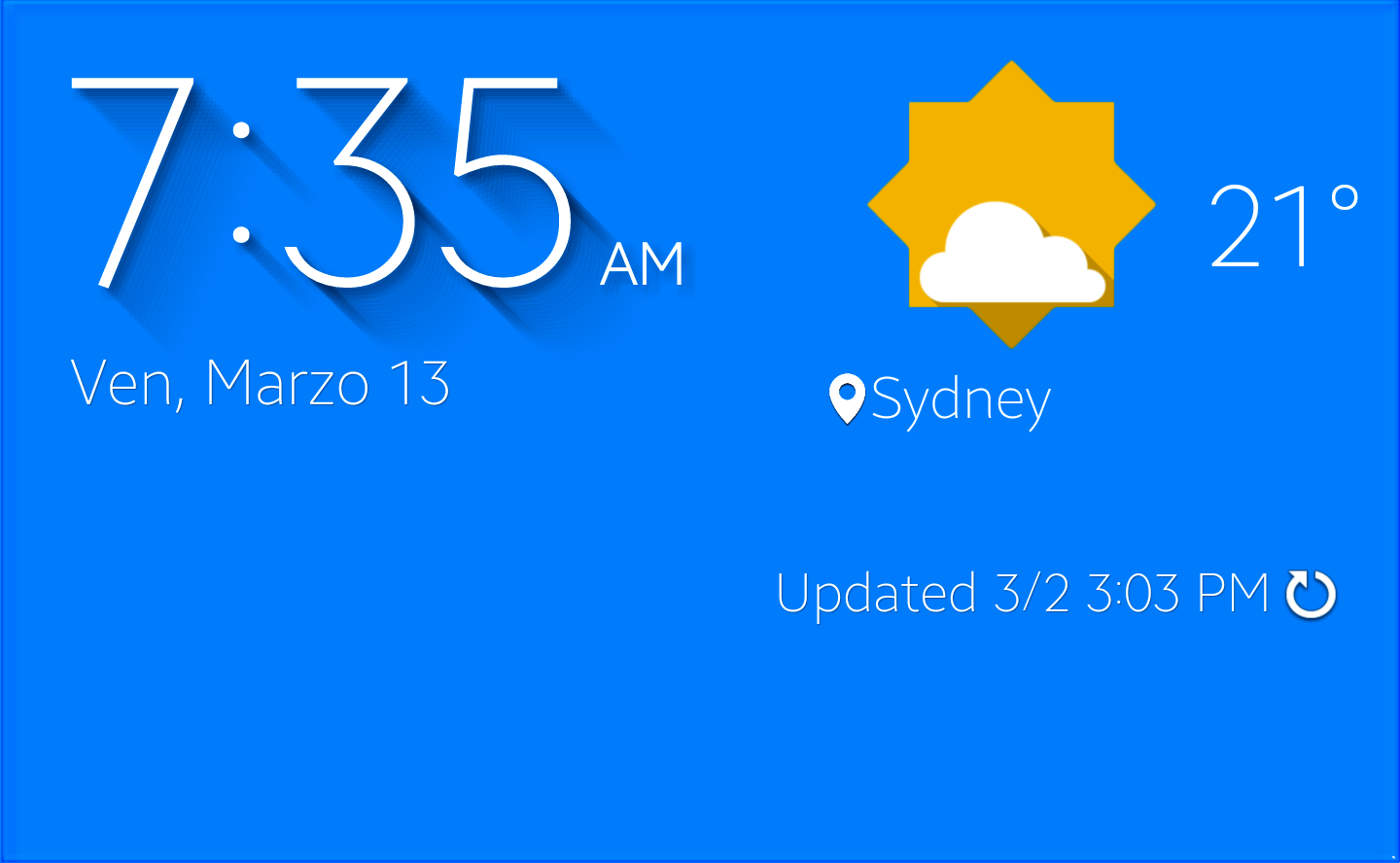 Clocks Calendars And Cloud Cover Useful Widgets That Work On Any