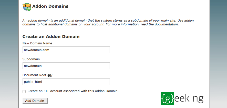 change wordpress domain name