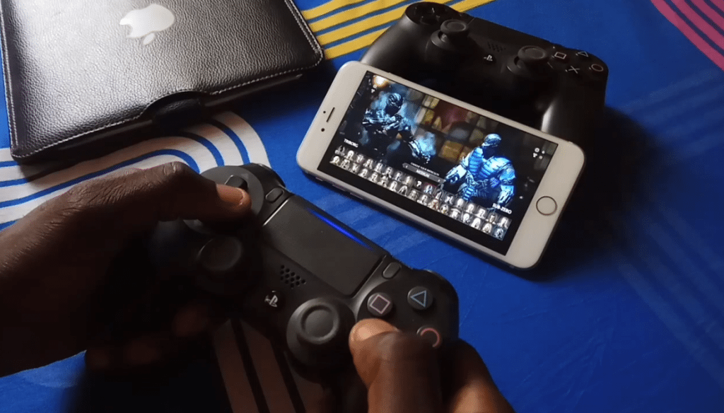 play ps4 games on iOS