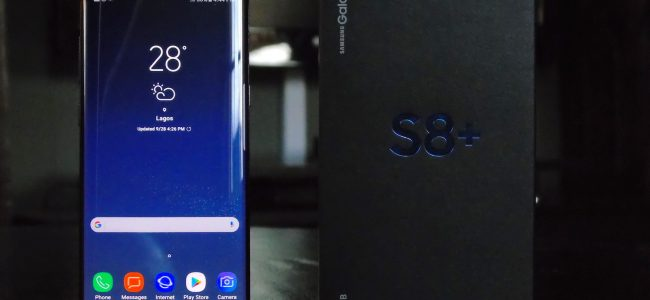 Samsung Galaxy S8+ profile