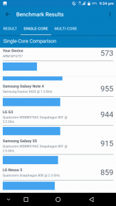 Vkworld Mix Plus Geekbench single core