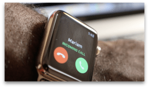 iphone calls on apple watch