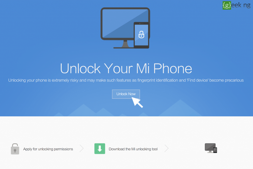 apply for bootloader unlock xiaomi