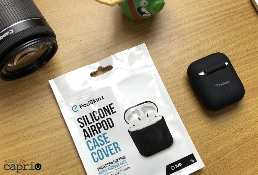 podskinz silicon case cover for airpods