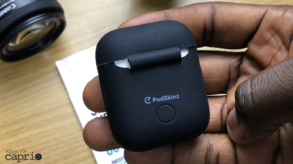 podskinz airpods case cover