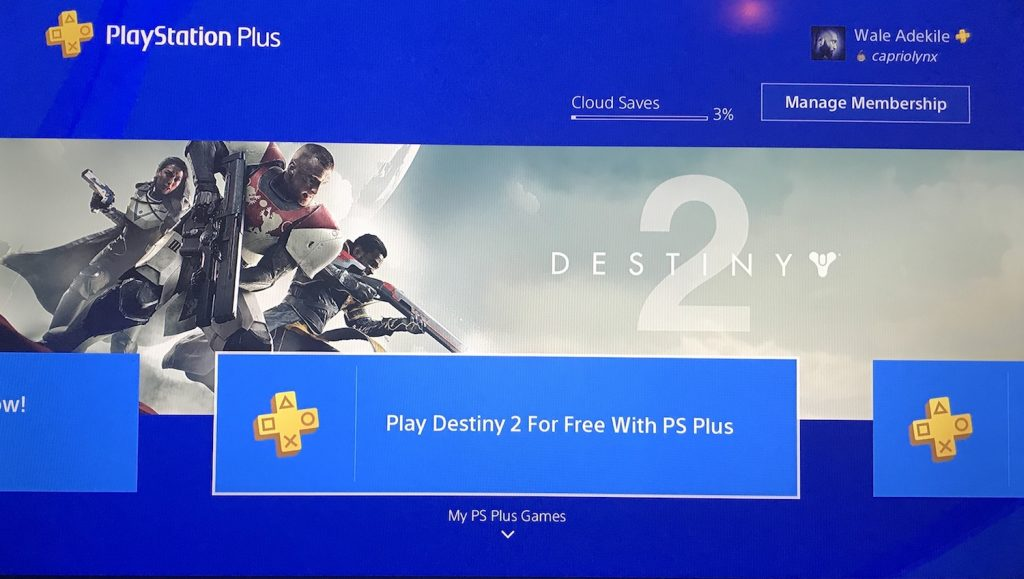 free games on playstation plus