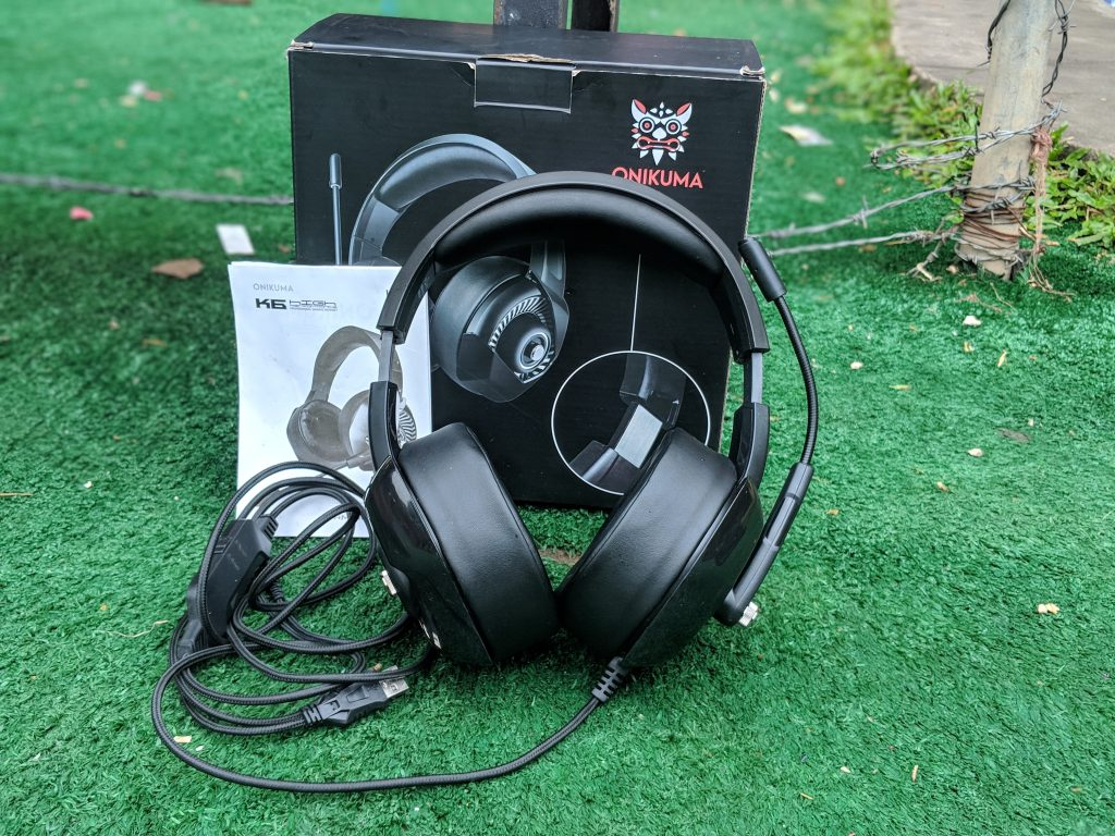Onikuma K6 Gaming Headset Unboxing