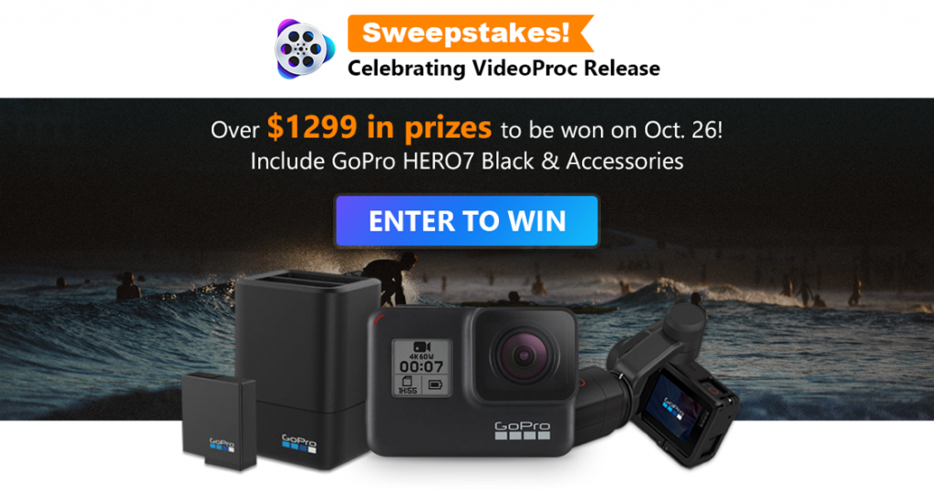Win GoPro6 from videopro