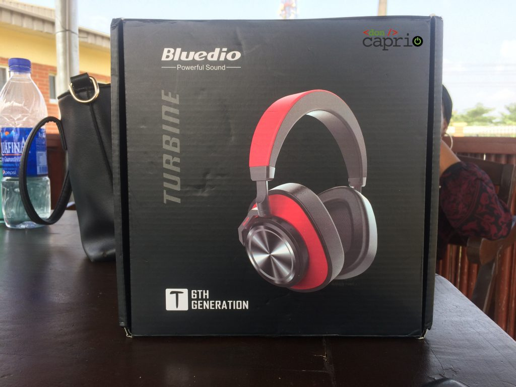 Bluedio T6 Package