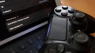 ps4 pad with ipad